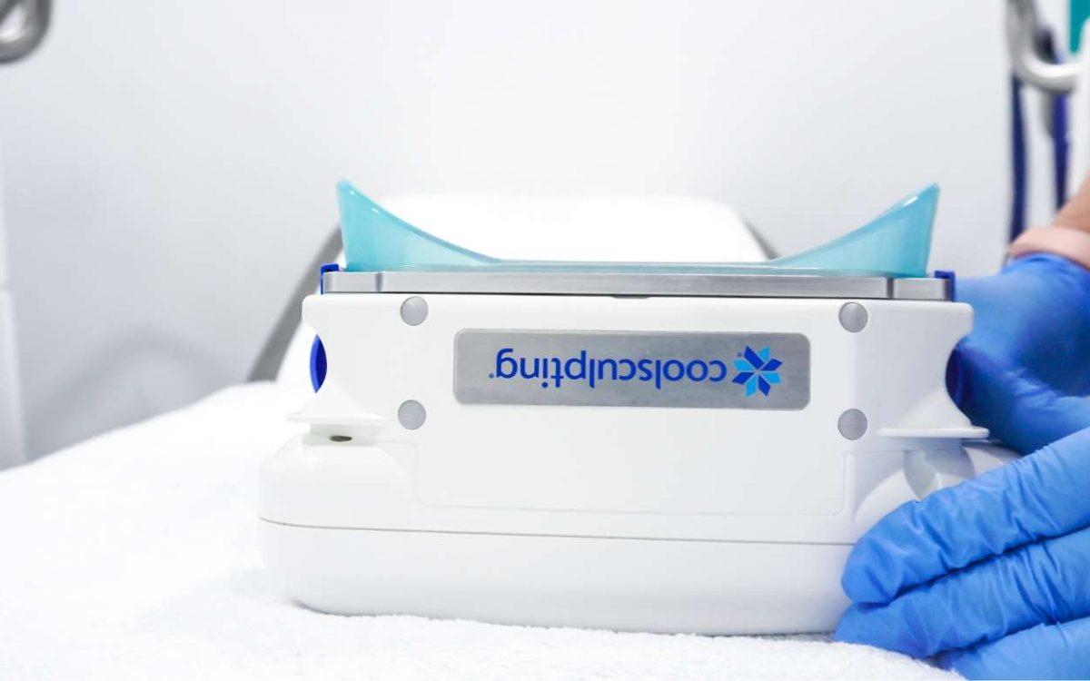 aplicador de tratamiento coolsculpting