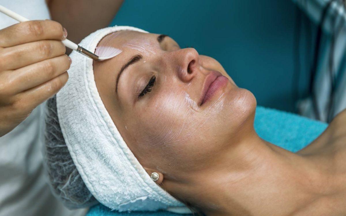 limpieza facial para peeling quimico facial
