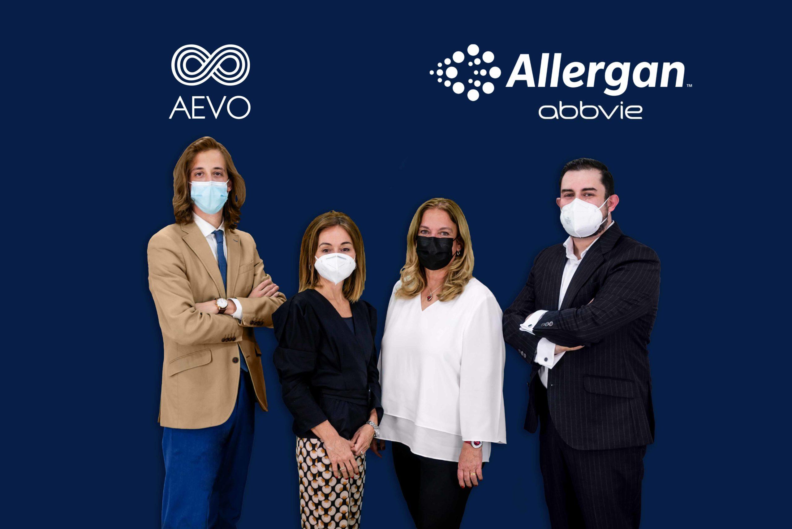 AEVO y Allergan Aesthetics firman una alianza estratégica